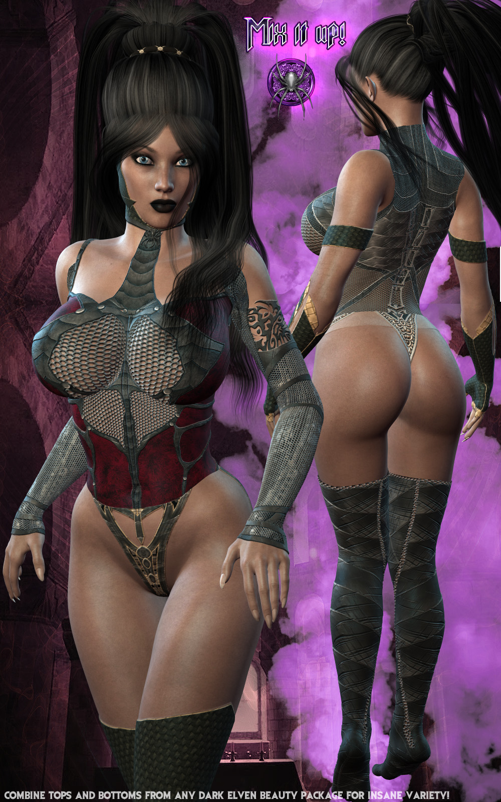 3d elven women naked tube