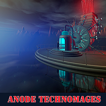 Anode technomages 3D Models 1971s