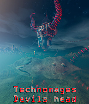 Technomages Devils head 3D Models 1971s