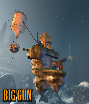 Big gun 3D Models 1971s