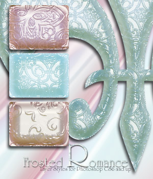 Frosted Romance 2D Graphics antje