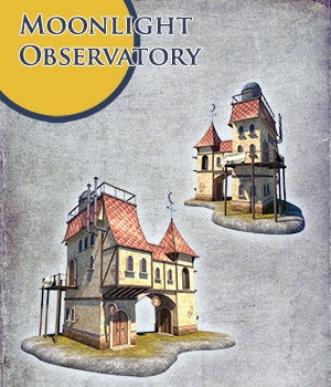 Moonlight Observatory 3D Models 1971s