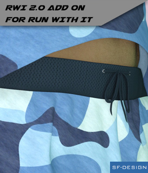 RWI 2.0 Texture Add On for Run With It 3D Figure Assets SF-Design