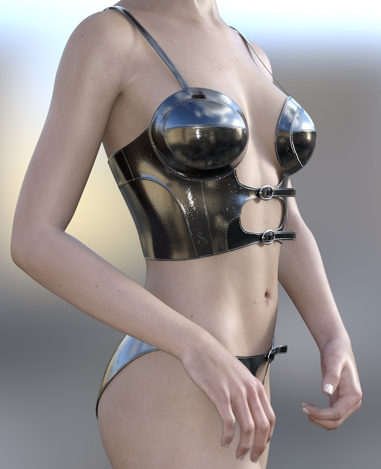 Strap Outfit 2 for G3F
