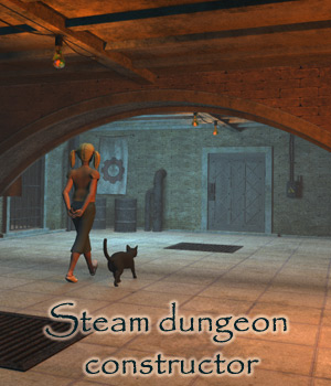 Steam dungeon constructor 3D Models 1971s