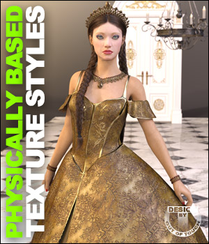 OOT PBR Texture Styles for Princess Ensemble 3D Figure Assets outoftouch