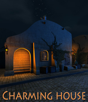 Charming house 3D Models 1971s