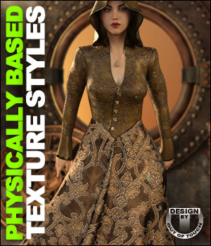 OOT PBR Texture Styles for Sorceress Apprentice 3D Figure Assets outoftouch