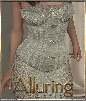 Alluring Outfit for Genesis 8 Female 3D Figure Assets ilona