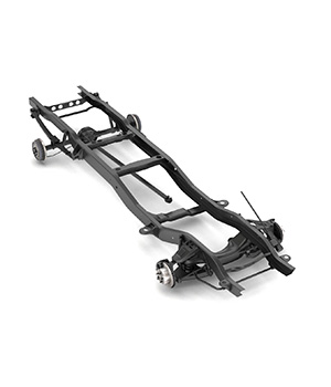 PICKUP TRUCK CHASSIS - EXTENDED LICENSE 3D Game Models : OBJ : FBX 3D Models Extended Licenses nnavas