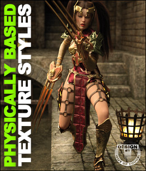 OOT PBR Texture Styles for dForce Lilikh Outfit 3D Figure Assets outoftouch