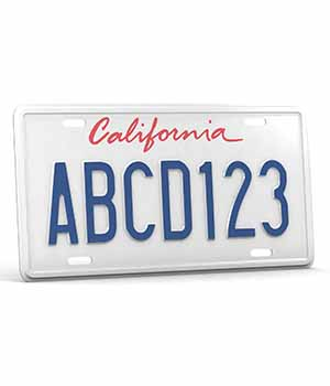 CAR LICENSE PLATE - Extended License 3D Game Models : OBJ : FBX 3D Models Extended Licenses nnavas