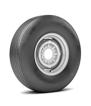 VINTAGE WHEEL AND TIRE 11 - Extended License 3D Game Models : OBJ : FBX 3D Models Extended Licenses nnavas