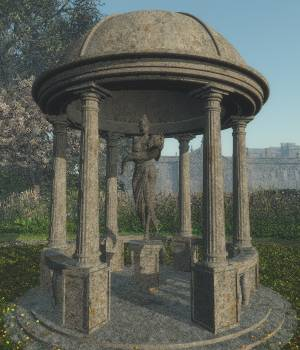 Temple of Gaea for Vue 3D Models judyk