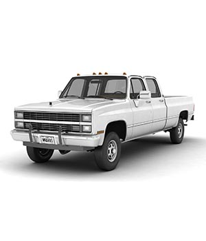 GENERIC PICKUP TRUCK 5 - EXTENDED LICENSE 3D Game Models : OBJ : FBX 3D Models Extended Licenses nnavas