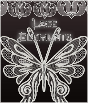 Lace Elements and More 2D Graphics Merchant Resources antje