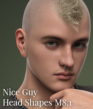 CGI Nice Guy - Head Shapes for M8.1
