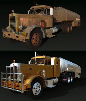 PETERBILT 281 BUNDLE for DAZ