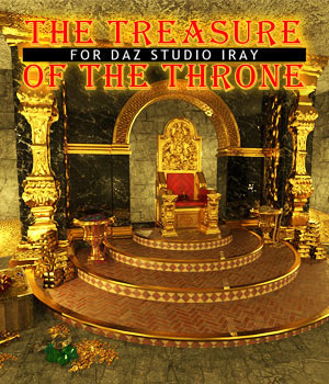 The Treasure Of The Throne for DS Iray