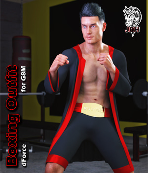 JRH dForce Boxing Outfit for G8M