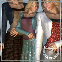 °Fashion° for Bolero Set by kobamax 3D Figure Assets outoftouch