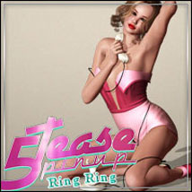5TEASE PinUp Vol 1 - Ring Ring 3D Figure Assets 3D Models outoftouch