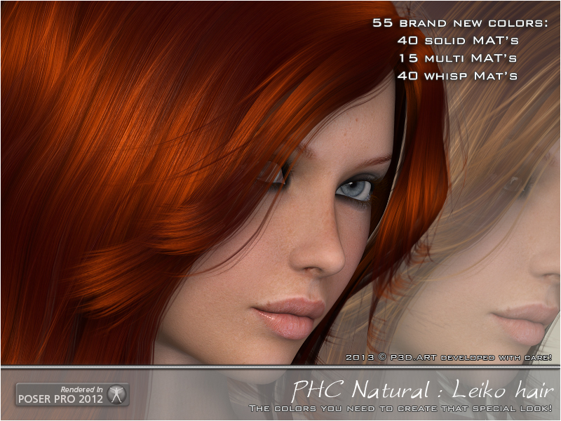 PHC Natural - Leiko hair