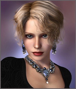 GCD Jewelry - Set1 3D Figure Essentials 3D Models GrayCloudDesign