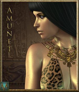 MRL Amunet Egyptian Fantasy 3D Models 3D Figure Essentials Mihrelle