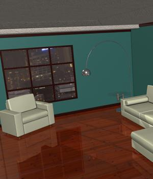 3D Assets: Interior Room 2 3D Models Imaginary_House