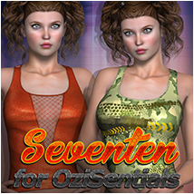 Seventeen for OziSentials 3D Figure Essentials Atenais
