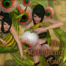 The Watching Grove Poses/Expressions Software Themed lunchlady