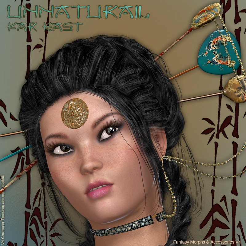 UnNatural 3  Far East  -  Morphs & Accessories V4