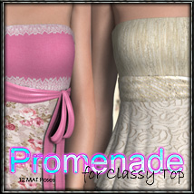 Promenade for Classy Top 3D Models 3D Figure Essentials FrozenStar