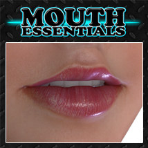 Exnem Mouth Essentials 3D Figure Assets exnem