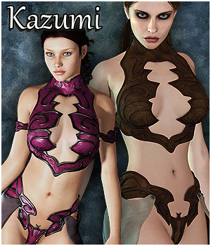 Kazumi for V4 Clothing Software Themed RPublishing