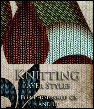 Knitting Layer Styles  2D And/Or Merchant Resources antje