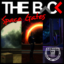THE BACK Space Gates Themed Props/Scenes/Architecture outoftouch