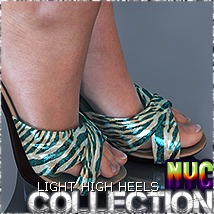 NYC Collection: LightHighHeels 3D Figure Assets 3DSublimeProductions