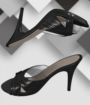 Light High Heel Sandals 3D Figure Assets Arryn