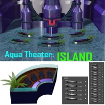 Aqua_Theater: ISLAND  3D Models mr_runtime