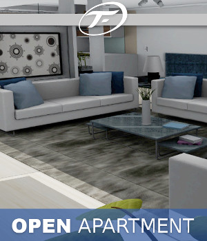 Open Apartment Props/Scenes/Architecture Themed TruForm