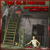 Old House Upper Level and Attic Themed Props/Scenes/Architecture Software 3-d-c