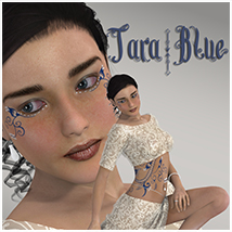 Tara Blue 3D Figure Essentials 3D Models TT