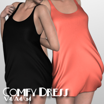 Comfy Dress V4-A4-G4 3D Figure Essentials nikisatez