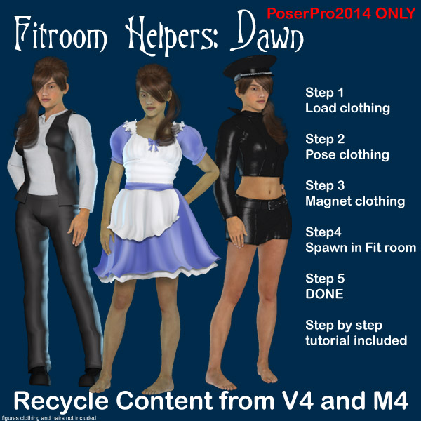 Dawn FitRoom Helpers by Lyrra