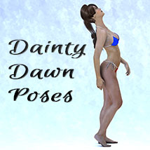 Dainty Dawn 3D Figure Essentials KarenJ