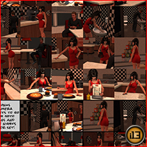 i13 Late Nights at the DINER POSES image 7