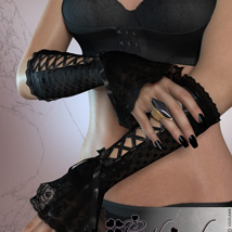 Gothic Gloves image 1