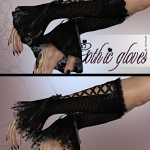 Gothic Gloves image 3